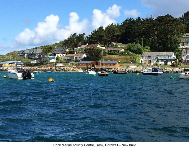 Rock Marine Activity Centre, Rock, Cornwall – New Build